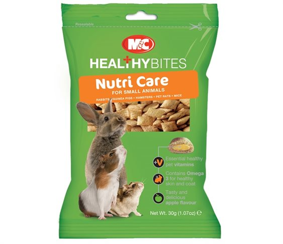 Λιχουδιά M&C Healthy Bites Nutri Care γι