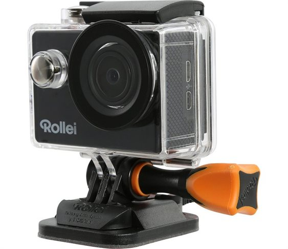 Action Cam Rollei 40297 415 Black 1080p