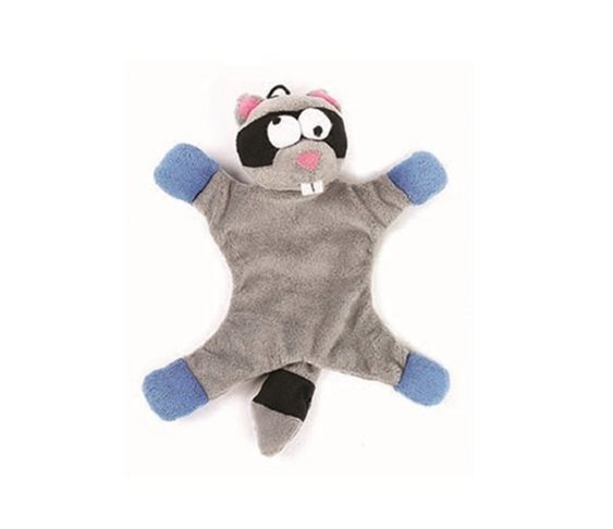 8e354ff353f5 Λούτρινο Παιχνίδι για Σκύλους Happy Pet Freaky Flatliner Raccoon
